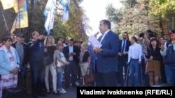 Михаил Саакашвили в Киеве