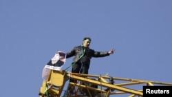 اعتراض در در ۲۵ بهمن