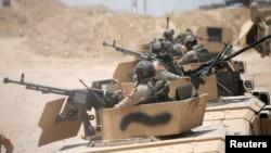 نیروهای امنیتی عراقی در حومه فلوجه