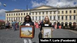Прогулка с картинами Верещагина