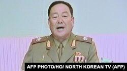Солтүстік Кореяның өлім жазасы орындалды деп хабарланған қорғаныс министрі Хен Ен Чхоль.