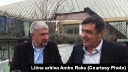 Podrška i dugogodišnje prijateljstvo: Dragan Kostić i Amir Reko