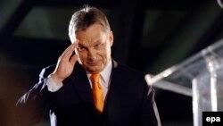 Венгриянын өкмөт башчысы Виктор Орбан.