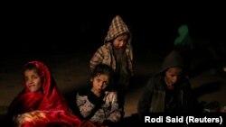 Sirijska djeca u selu Baguzu
