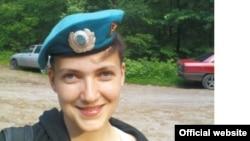 Украинска летчица Надежда Савченко