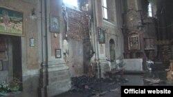Наслідки пожежі (фото ДСНС України)