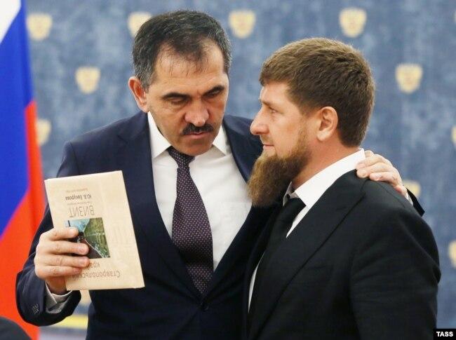 Главы Ингушетии и Чечни