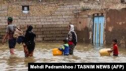 Հեղեղումը Իրանի Խուզեստանի գավառում, Ահվազ, 31 մարտի, 2019թ.