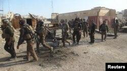 Рамадидегі ирак әскері. 28 желтоқсан 2015 жыл.
