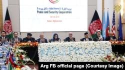 Международная конференция в рамках «Кабульского процесса» по примирению в Афганистане. Кабул, 28 февраля 2018 года.