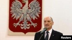 Міністр національної оборони Польщі Антоні Мацеревич