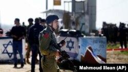 Izraelski vojnik, Zapadna obala, fotoarhiv