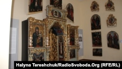 Іконостас українського іконописця Йови Кондзелевича представлений у Національному музеї імені Андрея Шептицького у Львові