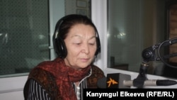 """""""Сезим"""" кризистик борборунун жетекчиси Бүбүсара Рыскулова."""