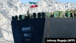 ابرنفتکش گریس ۱ با پرچم پاناما از ۲۷ مرداد که جبلالطارق را ترک کرد با نام آدریان دریا ۱ و با پرچم ایران تردد میکند