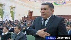 Сурхандарыя облусунун башчысы Эшдавлат Жураев