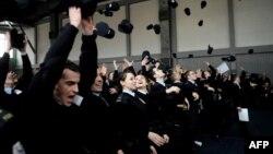 Ceremoni diplomimi e pjesëtarëve të Policisë së Kosovës