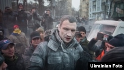 Виталий Кличко. Киев. 19 января
