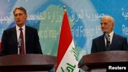الجعفري وهاموند - بغداد 13 تشرين الأول 2014