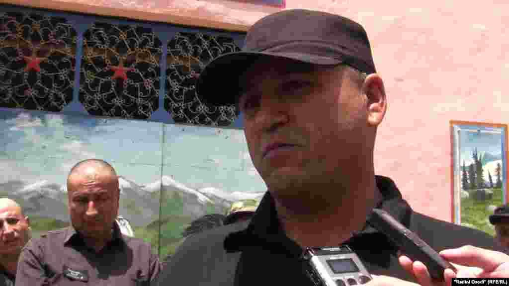 Эшони Сирочиддин, обвиненный в пропаганде Салафизма