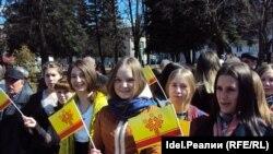 Митинг в защиту чувашского языка (архивное фото)