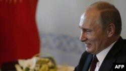 Russiýanyň prezidenti Wladimir Putin. 16-njy mart, 2015 ý.