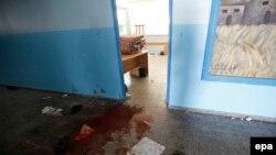 مدرسهای در بیت حانون که مورد حمله اسرائیل واقع شد