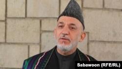ОвхIан-пачхьалкх -- ОвхIан президент Карзай Хьамид къамел деш ву Кабулехь зорбан-конференцехь,06Заз2012