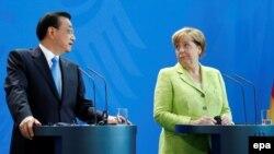 Kineski premijer Li Kečijang i nemačka kancelarka Angela Merkel.