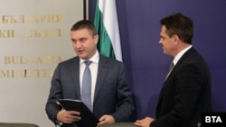 Министърт на финансите Владислав Горанов