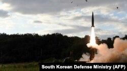 Հյուսիսային Կորեան նոր հրթիռ է փորձարկում, 15-ը սեպտեմբերի, 2017 թ․