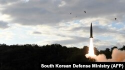 Coreea de Nord - nou test cu o rachetă balistică