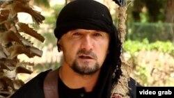 Тәжікстандық арнайы жасақтың бұрынғы командирі, қазір «Ислам мемлекеті» (ИМ) экстремистік ұйымының мүшесі Гулмурод Халимов.