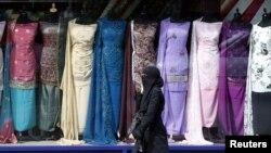 Мусульманка в центре Бирмингема