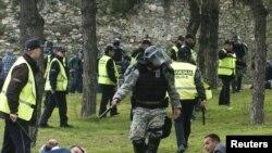 Incidenti i 13 shkurtit në Kalanë e Shkupit