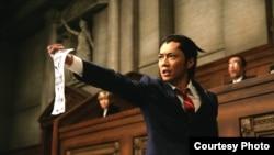 Кадр из фильма ''Ace Attorney''