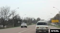 Ukrajna, put u Vinnitsa regionu