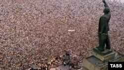Митинг Народного фронта в Баку, 6 сентября 1989