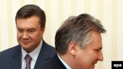 Ко всеобщему удовлетворению. Виктор Янукович не пожалел о встрече с Александром Квасьневским