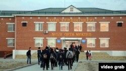Қызылорда облысындағы мектептердің бірі. 18 қазан 2014 жыл. (Көрнекі сурет)
