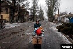 Refugiați în conflictul din estul Ucrainei