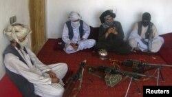 Ауғанстанның солтүстігіндегі Талибан жасағы. (Көрнекі сурет.)