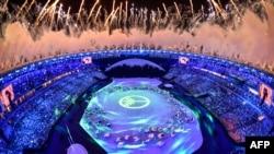 Rioda Olimpiya məşəli alovlandırıldı