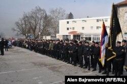 Skup u Višegradu početkom marta pripadnika Ravnogorskog pokreta