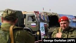 Siriýadaky rus harbylary. Abu al-Duhur, mart, 2018.