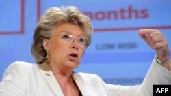 потпретседателката на Европската комисија Вивијен Рединг