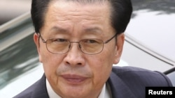Дядя лидера Северной Кореи Чан Сон Тхэк, казненный за государственную измену.