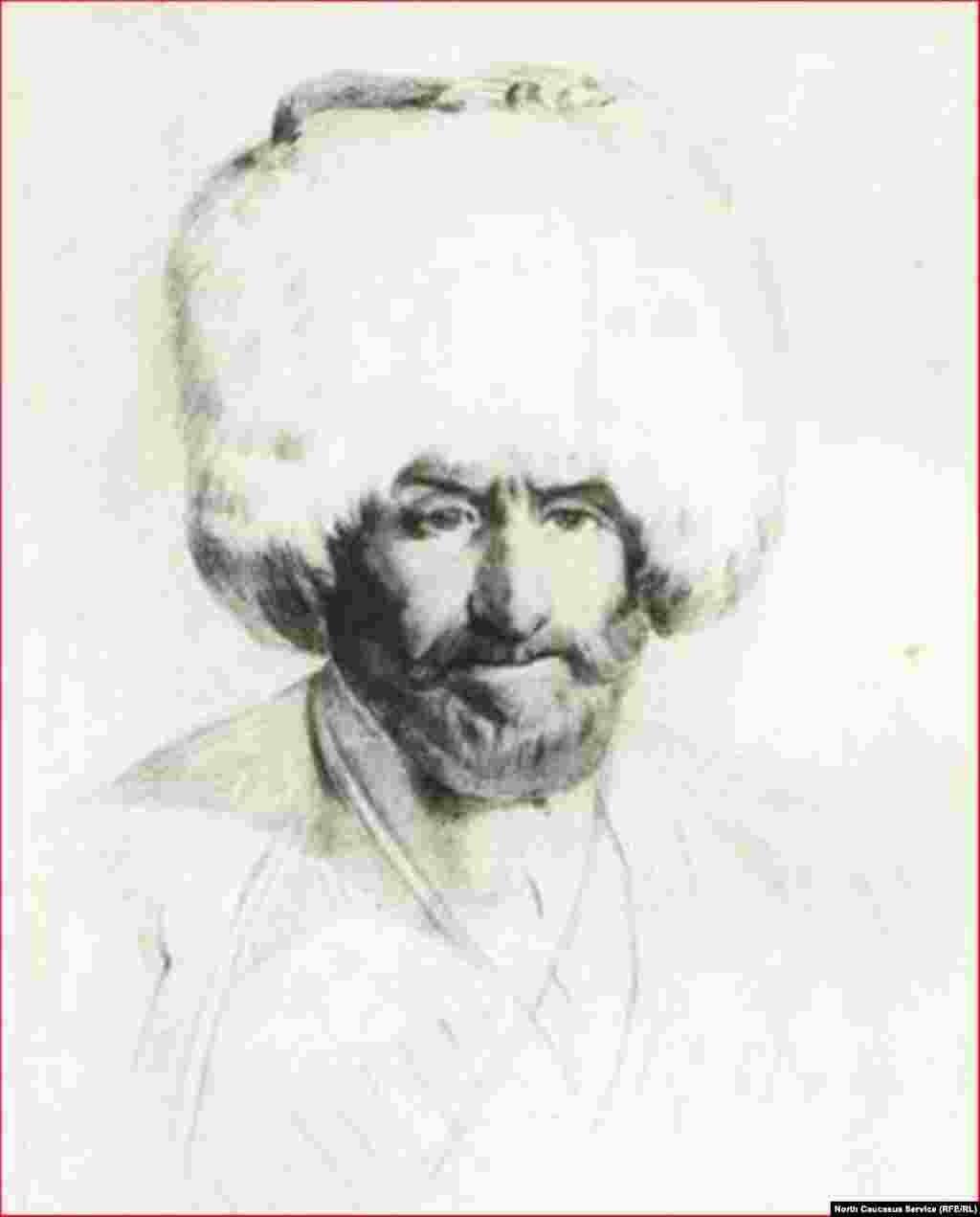 Наиб Хамзат Чантийский. Богатырев И.С., 1920-1930 гг.