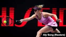 Українська тенісистка Еліна Світоліна, 1 листопада 2019 року