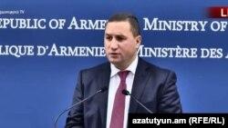 Пресс-секретарь МИД Армении Тигран Балаян